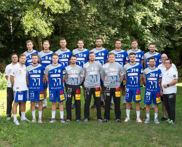 TSG Haßloch, Mannschaftsfoto 2019/2020, 3. Liga