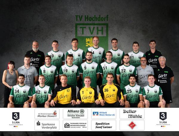 TV Hochdorf, Mannschaftsfoto 2019/2020, 3. Liga
