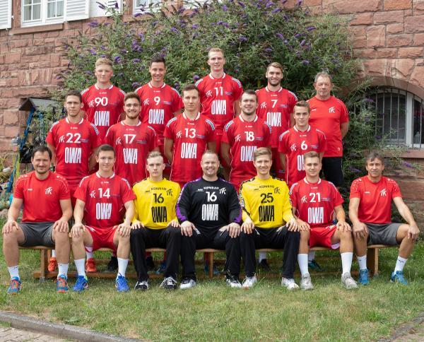 TV Kirchzell, Mannschaftsfoto 2019/2020, 3. Liga