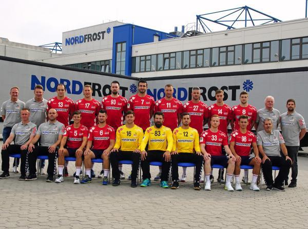 Wilhelmshavener HV, Mannschaftsfoto 2019/2020, 3. Liga