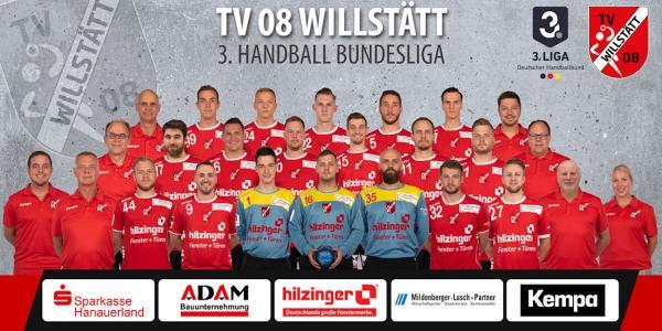 TV Willstätt, Mannschaftsfoto 2019/2020, 3. Liga