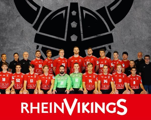 HC Rhein Vikings, Mannschaftsfoto Saison 2019/2020 3. Liga