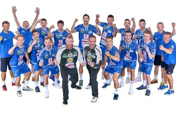 TSB Heilbronn-Horkheim Hunters, Mannschaftsfoto Saison 2019/2020 3. Liga