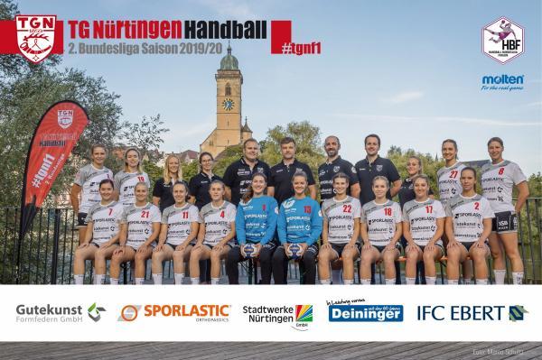 Mannschaftsfoto TG Nürtingen 2019/20 - neu
