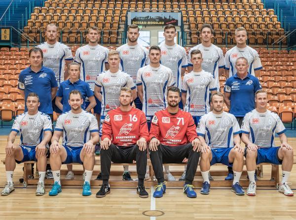 Dessau-Roßlauer HV, DRHV 06, Mannschaftsfoto Saison 2019/2020, 3. Liga