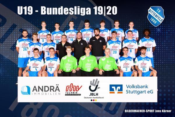 Teamfoto TV Bittenfeld U19 2019/20