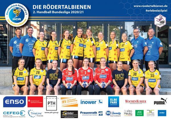 Teamfoto - HC Rödertal Mannschaftsfoto 2020/21