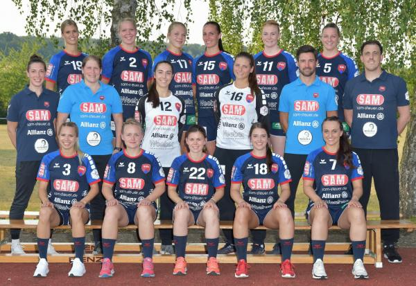 SG H2Ku Herrenberg - Teamfoto Mannschaftsfoto 2020/21