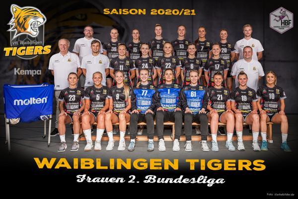 VfL Waiblingen - Teamfoto Mannschaftsfoto 2020/21