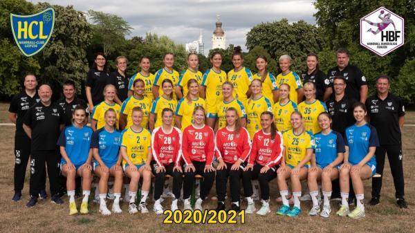 HC Leipzig - Teamfoto Mannschaftsfoto 2020/21