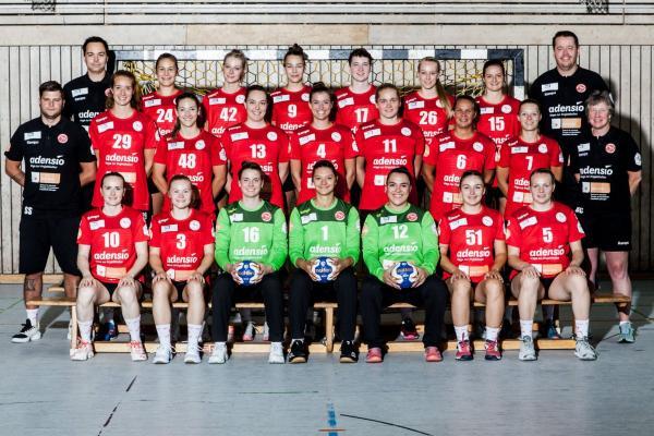 HSG Freiburg - Teamfoto Mannschaftsfoto 2020/21