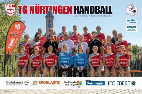 TG Nürtingen - Teamfoto Mannschaftsfoto 2020/21