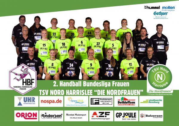 TSV Nord Harrislee - Teamfoto Mannschaftsfoto 2020/21