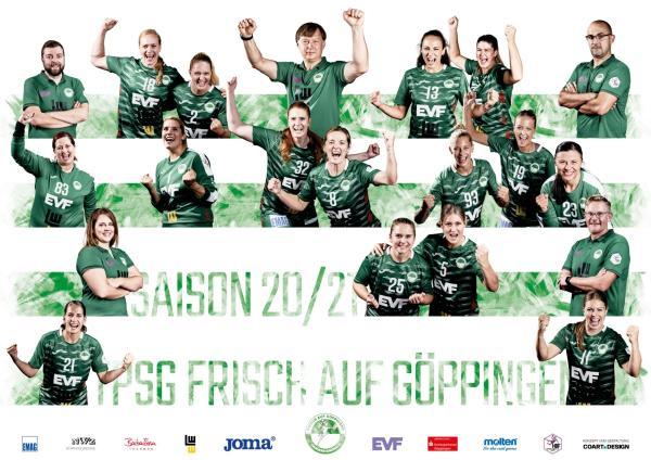 Frisch Auf Göppingen - Teamfoto Mannschaftsfoto 2020/21