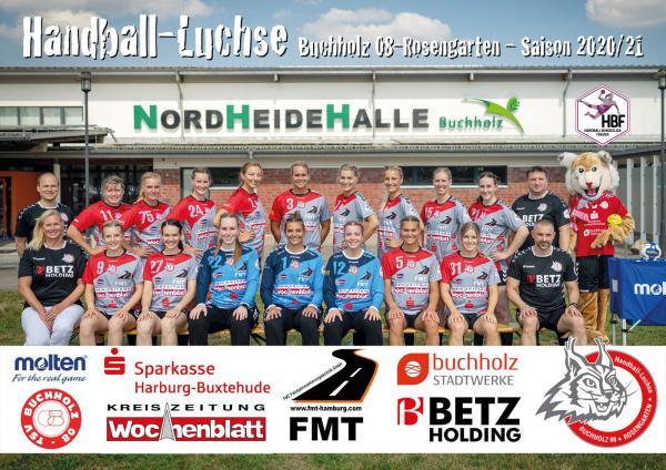 HL Buchholz 08-Rosengarten - Teamfoto Mannschaftsfoto 2020/21