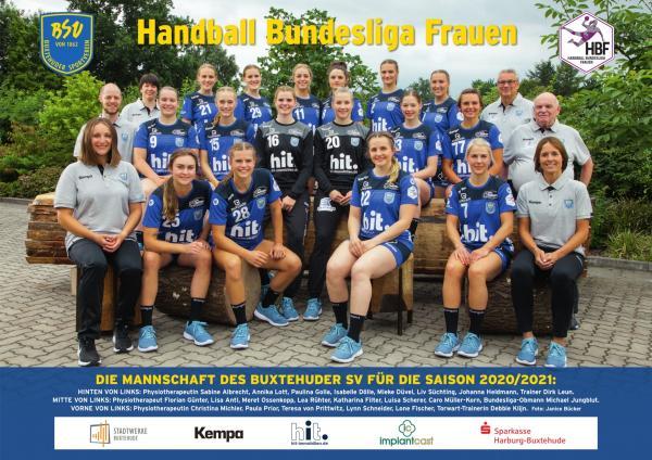 Buxtehuder SV - Teamfoto Mannschaftsfoto 2020/21