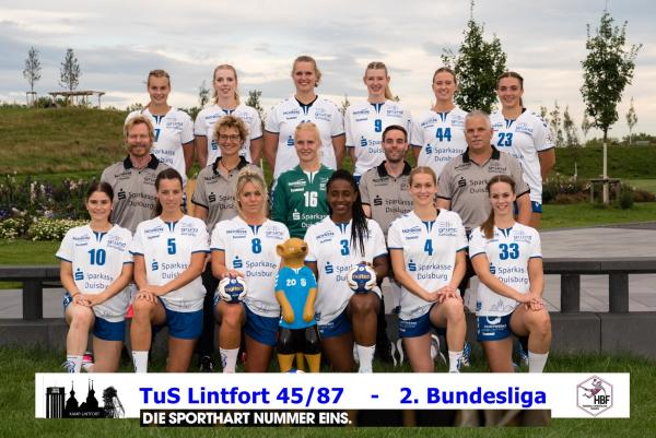 TuS Lintfort - Teamfoto Mannschaftsfoto 2020/21