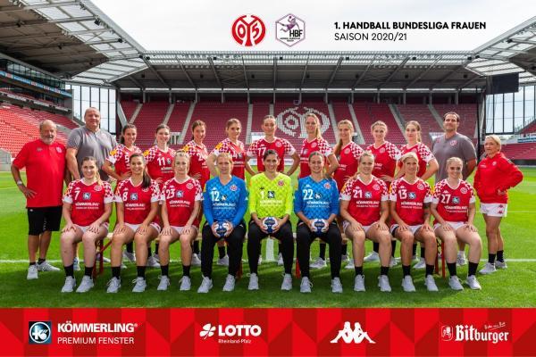 1. FSV Mainz 05 - Teamfoto Mannschaftsfoto 2020/21