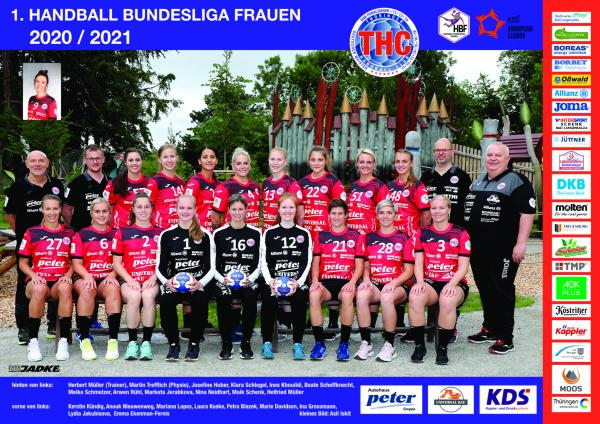 Thüringer HC - Teamfoto Mannschaftsfoto 2020/21