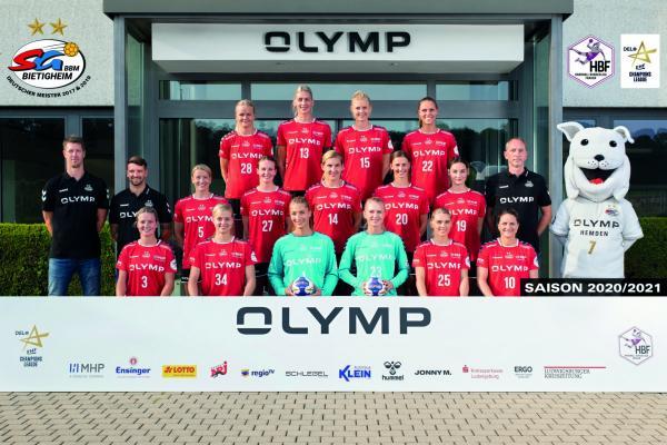 SG BBM Bietigheim - Teamfoto Mannschaftsfoto 2020/21