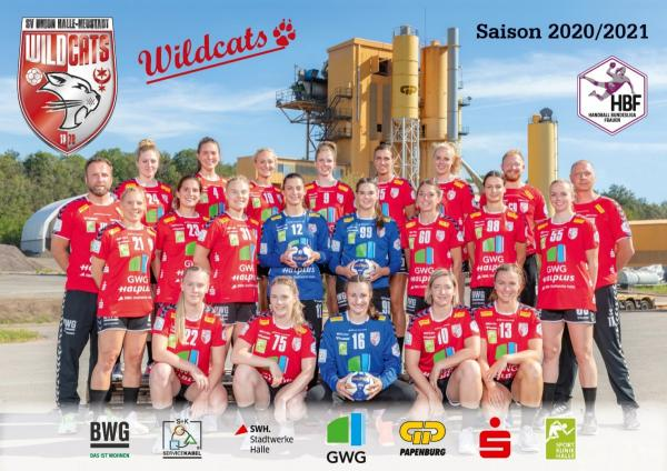 SV Union Halle-Neustadt - Teamfoto Mannschaftsfoto 2020/21