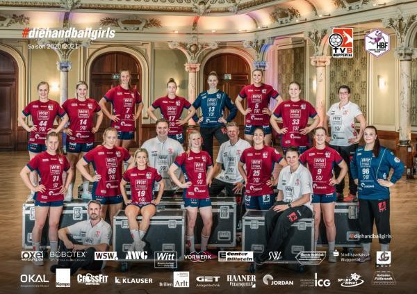 TVB Wuppertal - Teamfoto Mannschaftsfoto 2020/21
