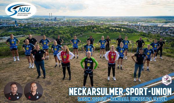 Neckarsulmer Sport-Union - Teamfoto Mannschaftsfoto 2020/21