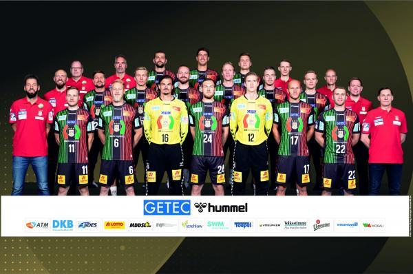 SC Magdeburg, Mannschaftsfoto 1. Handball-Bundesliga Saison 2020/21, LIQUI MOLY Handball-Bundesliga, HBL1