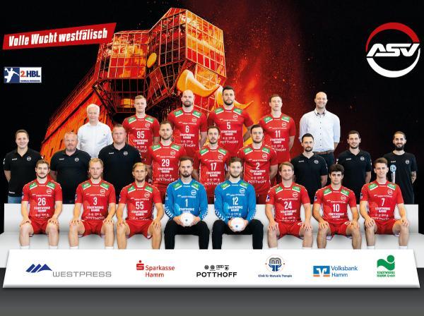 ASV Hamm-Westfalen, 2. Handball-Bundesliga Saison 2020/21, HBL2