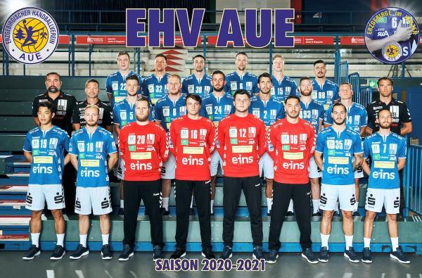EHV Aue, 2. Handball-Bundesliga Saison 2020/21, HBL2