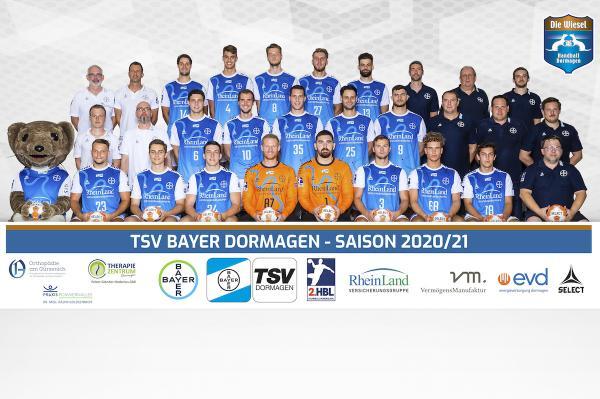 TSV Bayer Dormagen, 2. Handball-Bundesliga Saison 2020/21, HBL2