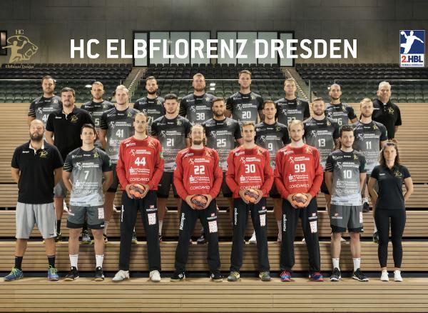 HC Elbflorenz Dresden, 2. Handball-Bundesliga Saison 2020/21, HBL2