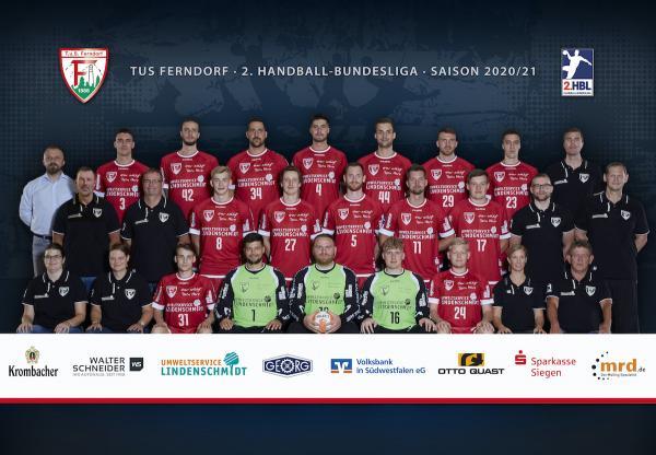 TuS Ferndorf, 2. Handball-Bundesliga Saison 2020/21, HBL2