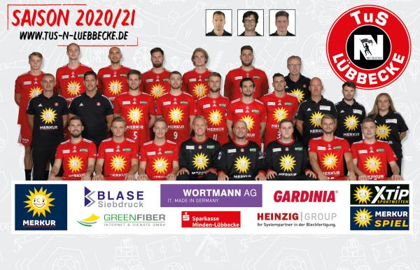 TuS N-Lübbecke, 2. Handball-Bundesliga Saison 2020/21, HBL2