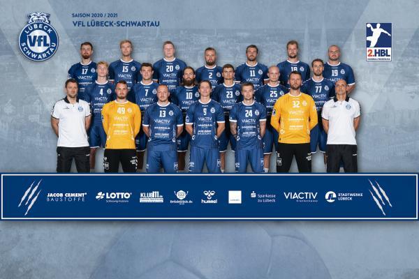 VfL Lübeck-Schwartau, 2. Handball-Bundesliga Saison 2020/21, HBL2