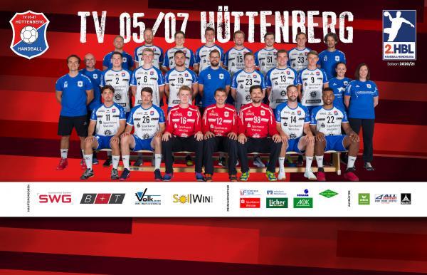 TV Hüttenberg, 2. Handball-Bundesliga Saison 2020/21, HBL2