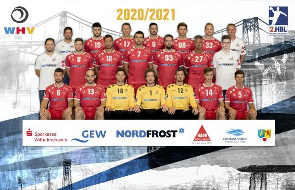 Wilhelmshavener HV, 2. Handball-Bundesliga Saison 2020/21, HBL2