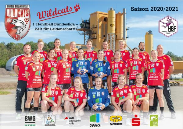 SV UNION Halle-Neustadt, Mannschaftsfoto Saison 2020/21 NEU