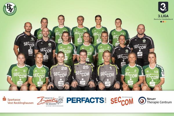 Teamfoto PSV Recklinghausen 2020/21