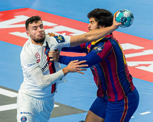 Nedim Remili, Paris St. Germain, FCB-PSG, PSG-FCB, VELUX EHF Final4 2020
