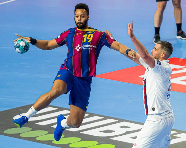 Timothey N`Guessan, FC Barcelona, BAR-PSG, PSG-BAR, VELUX EHF Final4 2020