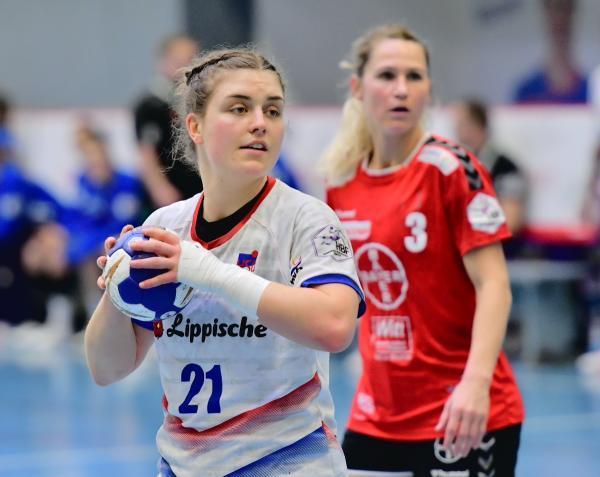 Ergebnisse Und Tabellen 1 Und 2 Frauen Bundesliga Halle Mit Wichtigem Sieg Krimi In Blomberg