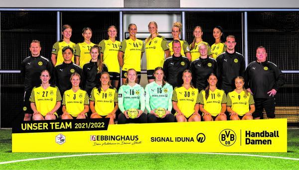 Teamfotos HBF1 2021/22 - Borussia Dortmund