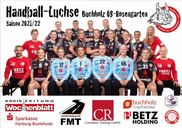 Teamfotos HBF1 2021/22 - HL Buchholz-Rosengarten