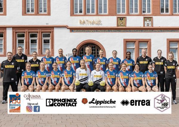 Teamfotos HBF1 2021/22 - HSG Blomberg-Lippe