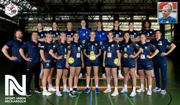 Teamfotos HBF1 2021/22 - Sport-Union Neckarsulm