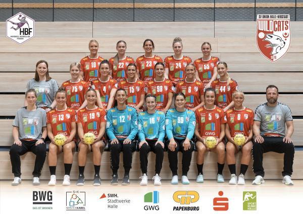 Teamfotos HBF1 2021/22 - SV Union Halle-Neustadt
