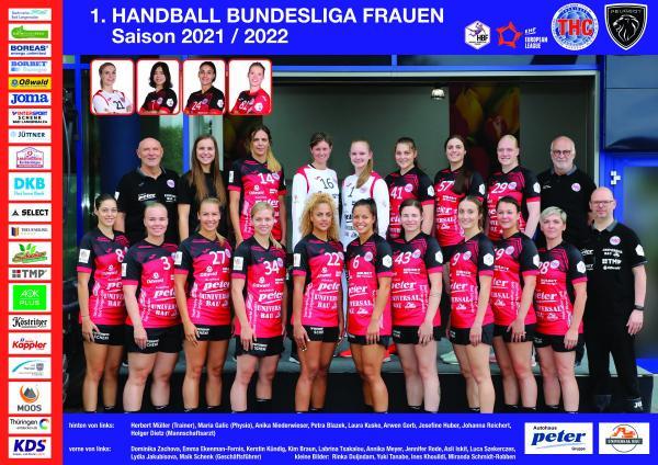 Teamfotos HBF1 2021/22 - Thüringer HC