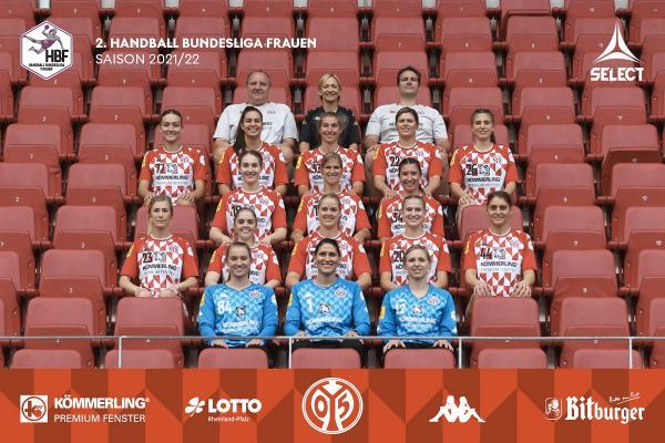 Teamfotos HBF2 2021/22 - 1. FSV Mainz 05