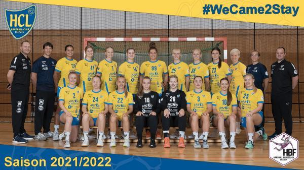 Teamfotos HBF2 2021/22 - HC Leipzig